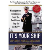 【预订】It's Your Ship: Management Techniques from the Best Dam