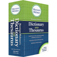 ��林�f氏 英文原版 Merriam Webster's Dictionary and Thesaurus 新版同�x�~字典