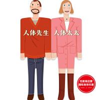 人体先生和人体太太(精装纸板书)