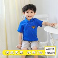 【3件2折价:49元】斯提妮卡通儿童polo衫 小男孩童短袖印花上衣童装【支持礼品卡】