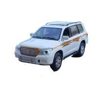 1: 32霸道SUV合金汽车模型仿真车模声光玩具车 陆地巡洋舰 白色