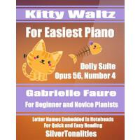 【预订】Kitty Waltz for Easiest Piano