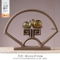 新中式摆件家居饰品创意个性客厅电视柜酒柜小工艺品酒柜装饰陶瓷