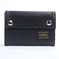 新品吉田head porter短款钱包男女小钱包休闲三折钱包零钱硬币包