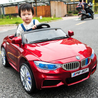 婴儿童电动车四轮跑车遥控童车可坐小孩汽车摇摆宝宝玩具车可坐人
