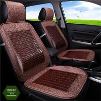 汽车竹片坐垫夏季透气凉垫竹子麻将凉席座垫轿车面包货车通用
