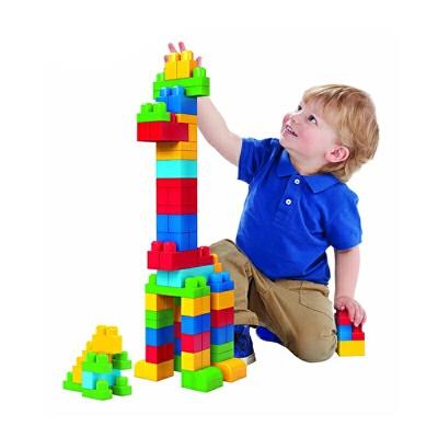 费雪美高拼插积木玩具防吞咽1-2周岁大颗粒宝宝婴儿童可啃咬