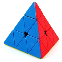圣手坦克金字塔魔方异形彩色顺滑三角形魔方儿童益智玩具异型魔方