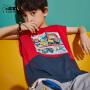 【2件3折:35.7元】小虎宝儿男童背心2021夏季新款儿童纯棉薄款中大童洋气童装