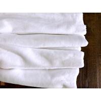 仿獭兔毛皮草毛绒布料白色粉色柜台展示背景布服装抱枕桌布沙发垫k