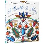 英文原版 A Beetle Is Shy 美丽成长生命系列 精装科普绘本 百科认知读物 小学STEAM课外阅读 Chr