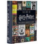 英文原版 The Art of Harry Potter Mini Book of Graphic Design 精装
