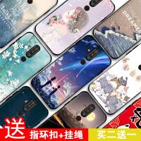 诺基亚x71手机壳 诺基亚x71保护套 TA-1172手机套Nokia X71硅胶软磨砂全包防摔卡通彩绘保护壳