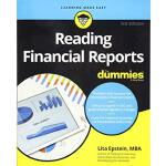 【预订】Reading Financial Reports For Dummies, 3Rd Edition 9781