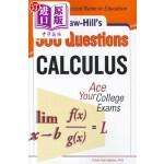 【中商海外直订】McGraw-Hill's 500 Calculus Questions: Ace Your Coll