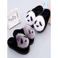 新款儿童棉拖鞋男童女童加厚保暖防滑1-3岁宝宝室内包跟棉鞋