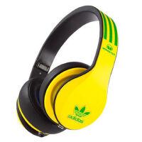 Monster 魔声 YAO SOLAR adidas 三叶草限量版 头戴式 耳机蓝红官方标配