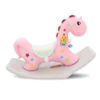 宝宝摇椅音乐木马摇摇马大号加厚儿童玩具1-6周岁礼物