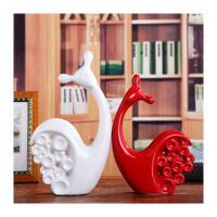 家居摆件陶瓷工艺品客厅酒柜电视柜书柜卧室陶瓷创意装饰摆件