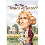 WHO WAS THOMAS JEFFERSON 进口故事书,Dennis Brindell Fradin(丹尼斯・布