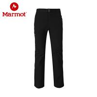 【下单即享折上4折优惠】Marmot/土拨鼠新款户外防泼水拼接防风男式M3长裤软壳裤S80410