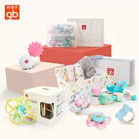 好孩子(gb)婴儿玩具新生儿牙胶宝宝手摇铃3-6-12个月0-1岁新生儿手抓球