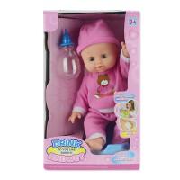 智能仿真婴儿眨眼洋娃娃会说话会喝水会尿尿家政子儿童玩具女孩