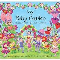现货 英文原版 My Fairy Garden 我的精灵花园 三维精品立体书
