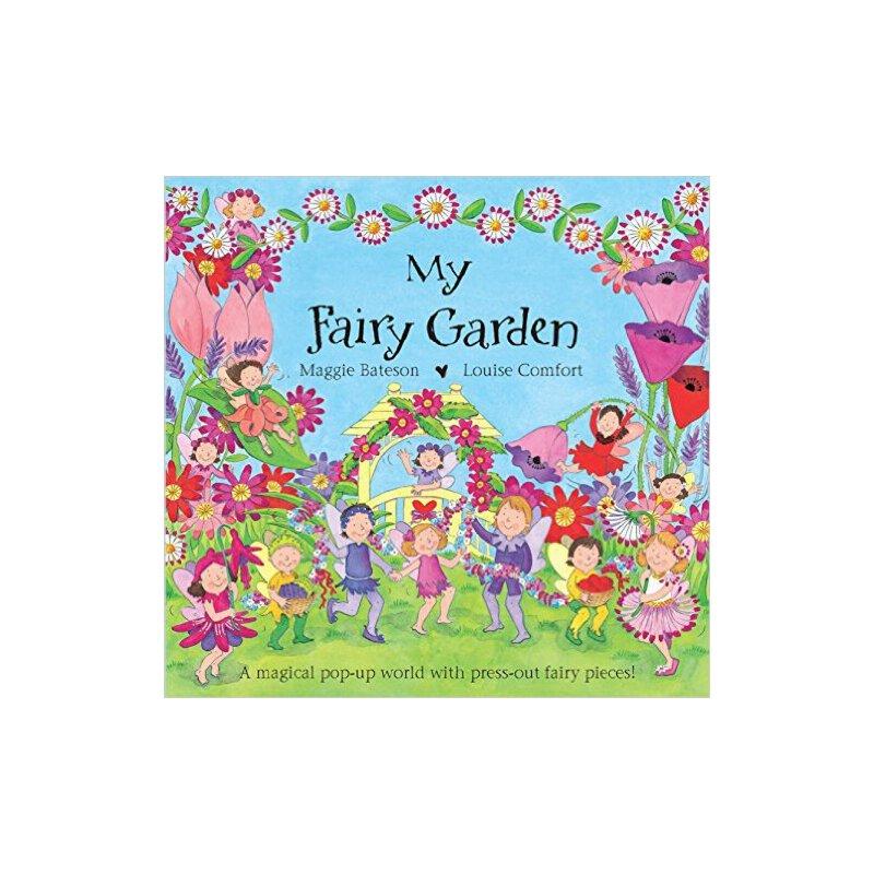 现货 英文原版 My Fairy Garden 我的精灵花园 三维精品立体书 MY FAIRY GARDEN