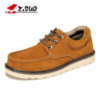 Z.Suo/走索英伦休闲鞋大码板鞋男大头鞋低帮工装鞋男鞋45码46码ZS6156