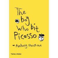 现货 咬了毕加索的男孩 英文原版 Boy Who Bit Picasso 艺术启蒙儿童绘本