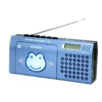 熊猫F137磁带机复读机学生英语学习教学用卡带单放机播放机录放收录收音机小学生初中生儿童放磁带的便携老式 蓝色