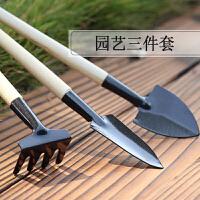 家用多肉植物小铁铲园艺松土工具套装盆栽种花铲子花锹耙子三件套