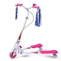 剪刀车 闪光蛙式车 童车玩具时尚健身运动儿童蛙式滑板车 三轮车活力车