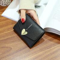 小零钱包女士短款新款韩版折叠潮学生小清新个性迷你可爱钱夹