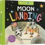 英文原版 Hello, World! Moon Landing 你好科学小世界 纸板书 幼儿科普百科 幼儿STEM启蒙