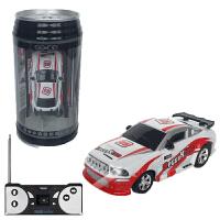微型汽�玩具 超小迷你�b控�微型充�小跑�可�芬桌�罐��玩具高速��有∑�� 白�t色 新-可�奋�-27mhz
