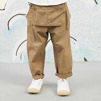 【秒杀价:154元】马拉丁童装男大童裤子春装2020年新款洋气设计感儿童休闲裤子