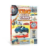英文原版 科学漫画系列:汽车Science Comics: Cars儿童绘本图画故事书 小学生课外阅读交通工具科普认知