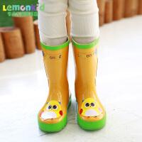 儿童雨鞋男童女童雨鞋防滑宝宝雨鞋儿童雨靴橡胶小孩雨鞋