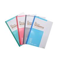 晨光记事本B5无线装订本60页商务必备笔记本(1本)颜色随机
