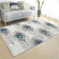 式简约现代美式客厅地毯沙发茶几垫床边毯卧室满铺机洗定制