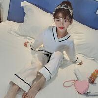 女童睡衣春装儿童长袖公主纯棉套装中大童家居服