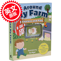 [现货]英文原版 Around my Farm 儿童图书