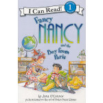 Fancy Nancy and the Boy from Paris Book and CD 漂亮的南希与巴黎来的男孩(书+CD)(I Can Read,Level 1)ISBN 9780061840555