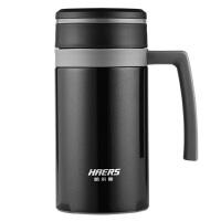304不锈钢保温杯男士办公室泡茶杯真空女带手柄水杯子