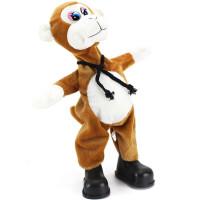 会唱歌跳舞的动耳狗 机器狗 搞笑摇头驴 儿童电动毛绒玩具驴