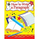 【预订】How to Write a Paragraph, Grades 3-5