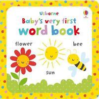 现货 英文原版Baby's very first word book宝宝的第一本单词书