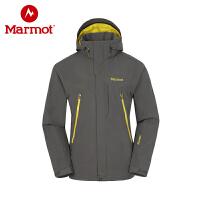 Marmot/土拨鼠春秋男款冲锋衣沙宝亮明星同款夹克保暖外套